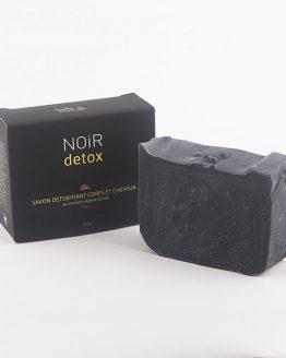 Savon noir detox au charbon végétal activé de Belle à croquer