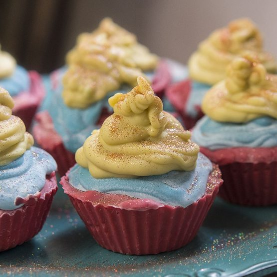 Savon cupcake de Noël de Belle à Croquer