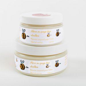 Beurre corporel Alice au pays des abeilles de Belle à Croquer