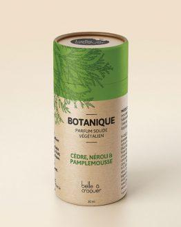 Parfum solide botanique de Belle à Croquer