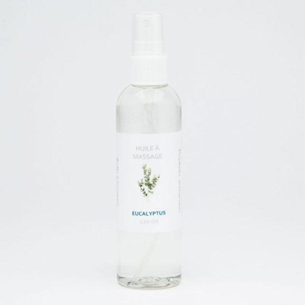 Huile à massage eucalyptus de Belle à Croquer