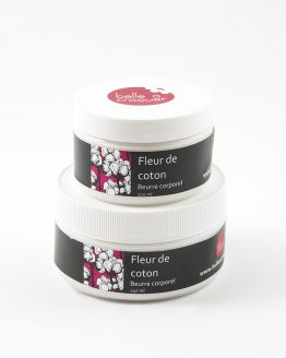 Beurre corporel fleur de coton de Belle à Croquer