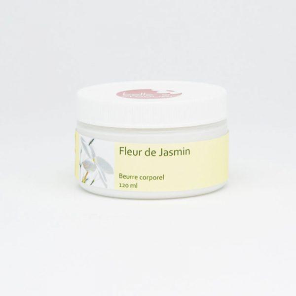 Beurre corporel fleur de jasmin de Belle à Croquer
