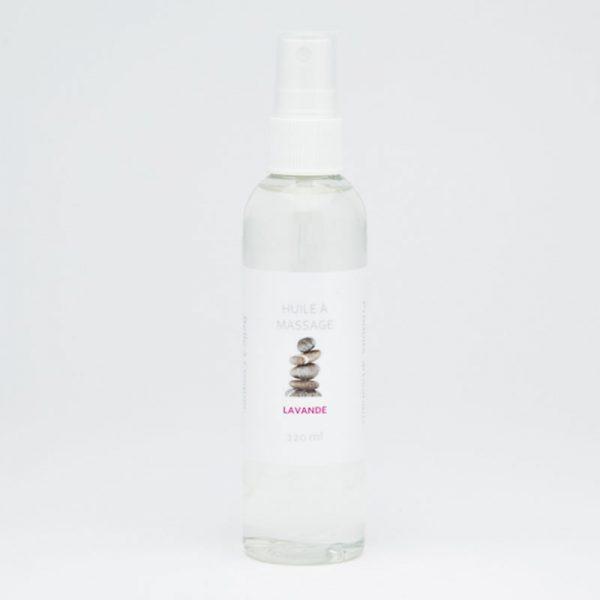 Huile à massage lavande de Belle à Croquer