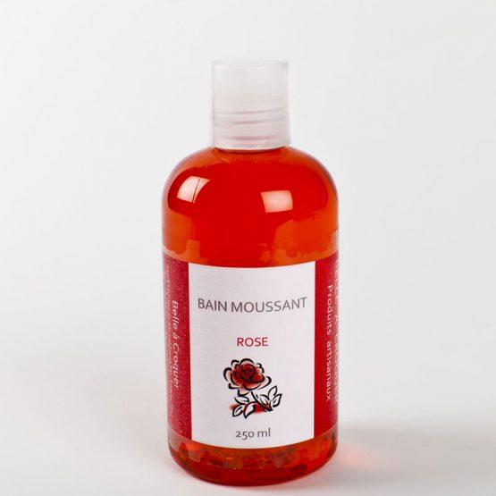 Bain moussant rose de Belle à Croquer
