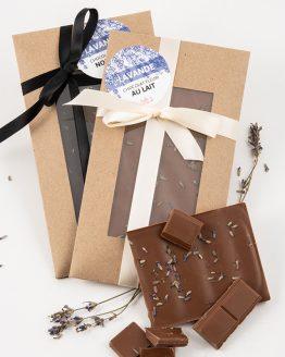 Chocolat fleuri à la lavade de Belle à Croquer