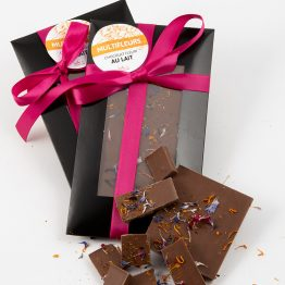 Chocolat fleuri multifleurs de Belle à Croquer