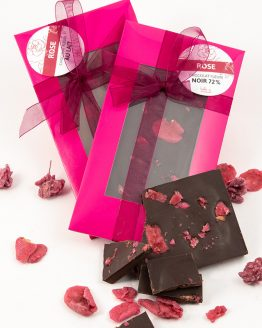 Chocolat fleuri à la rose de Belle à Croquer