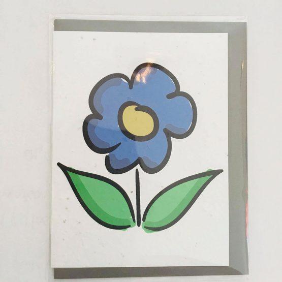 Carte à planter fleur de Belle à Croquer