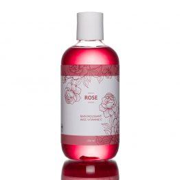bain moussant rose