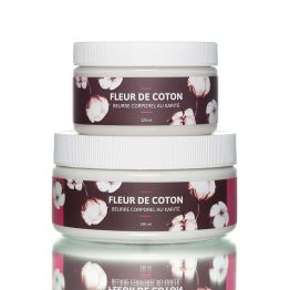 beurre corporel fleur de coton