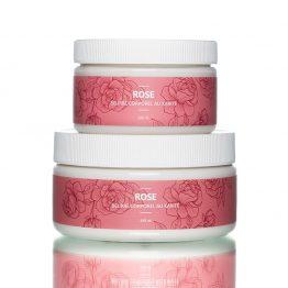 Beurre corporel rose