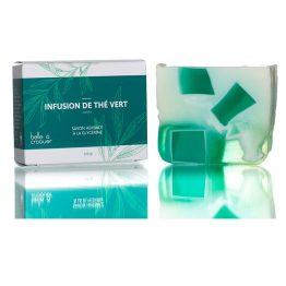 savon infusion de thé vert