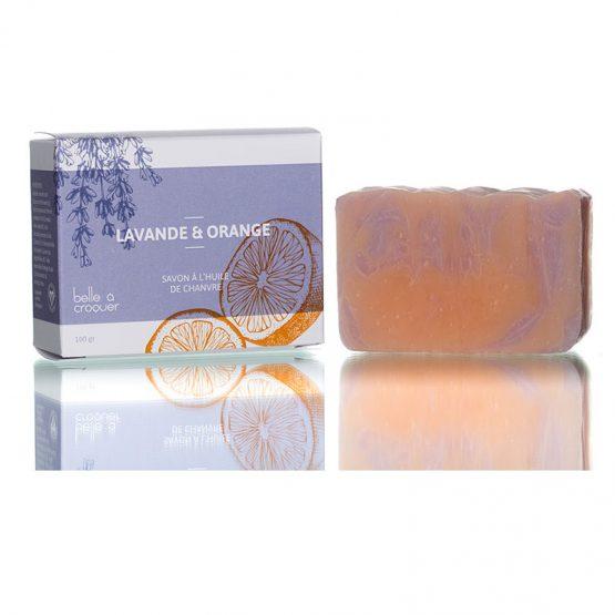 savon lavande orange